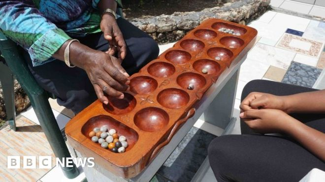 Battle of wits: Antiguans revel in ancient board game #world #BBC_News