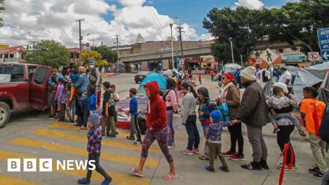 US immigration: Disaster agency FEMA brought in to help with child migrant surge #world #BBC_News