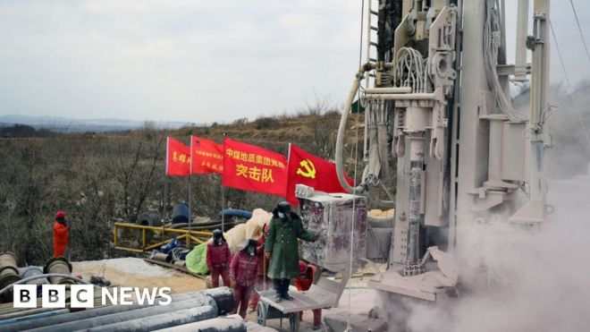 China mine rescue: First survivor brought to surface, say state media #world #BBC_News