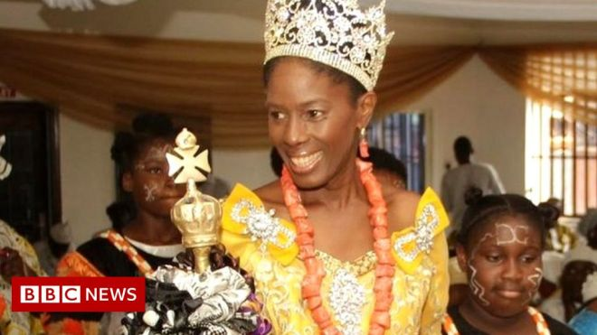 Nigeria's Efik queen wants to take royal meetings online #world #BBC_News