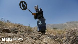 Halo Trust: Afghanistan mine clearance workers shot dead 'in cold blood' #world #BBC_News