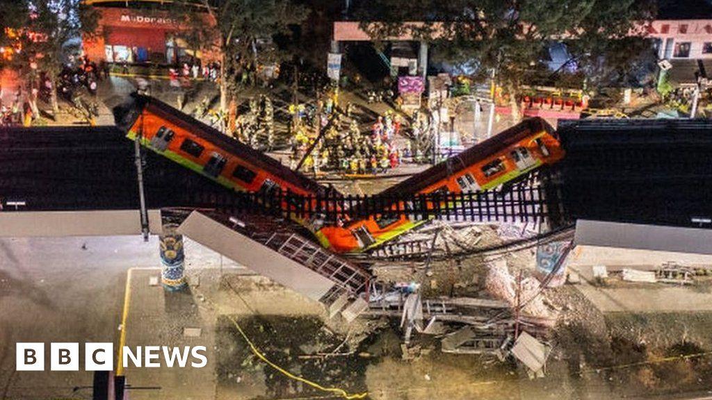 Mexico City metro overpass collapse kills 23, Swahili Post