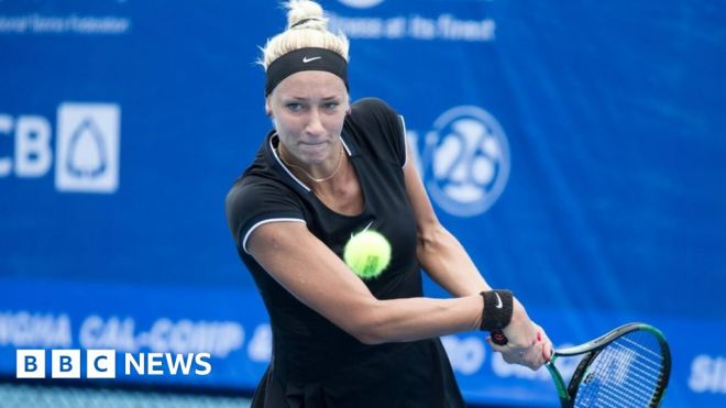 French Open: Yana Sizikova arrested amid match-fixing inquiry #world #BBC_News