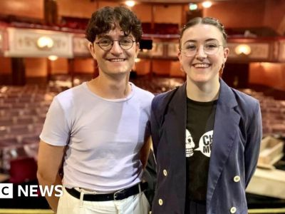 From a uni bedroom to Broadway (almost)