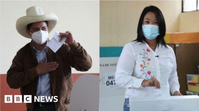 Peru election: Fujimori's lead narrows as rural votes come in #world #BBC_News