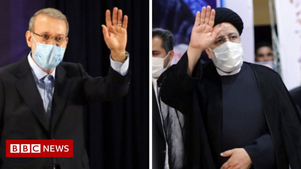 Leading conservatives Raisi and Larijani enter Iran presidential race