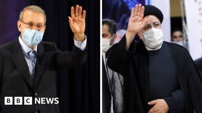 Leading conservatives Raisi and Larijani enter Iran presidential race #world #BBC_News