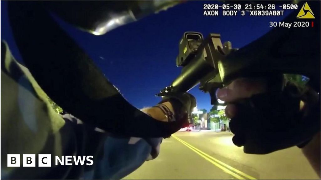 , Minneapolis police 'hunted' protesters with rubber bullets, The Evepost BBC News