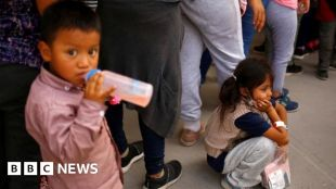 Big rise in numbers of migrant children on Mexico-US border #world #BBC_News