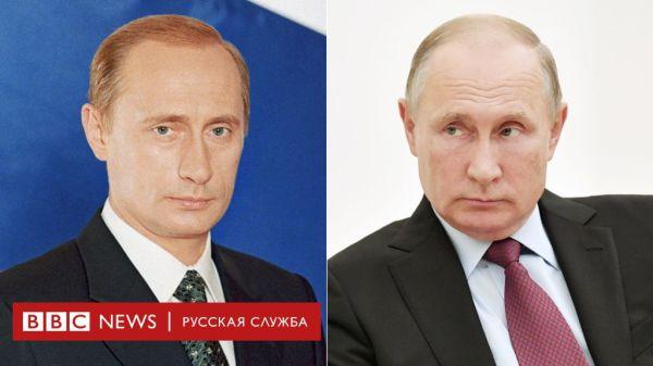 Как менялся Путин за 18 лет у власти. Фотографии по годам ...