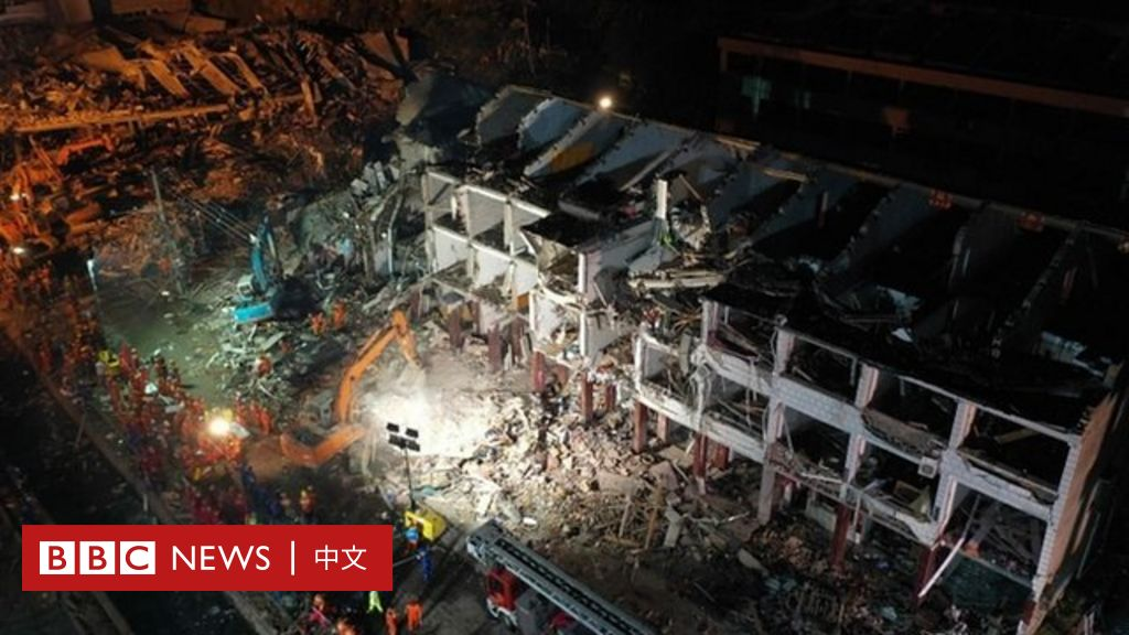 中國浙江溫嶺槽罐車爆炸至少19死172傷 - BBC News 中文