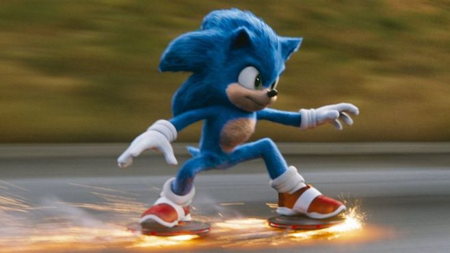 Sonic the Hedgehog movie: Critics put the brakes on - BBC News