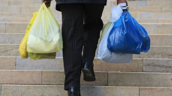 Plastic bag use plummets in England since 5p charge - BBC News