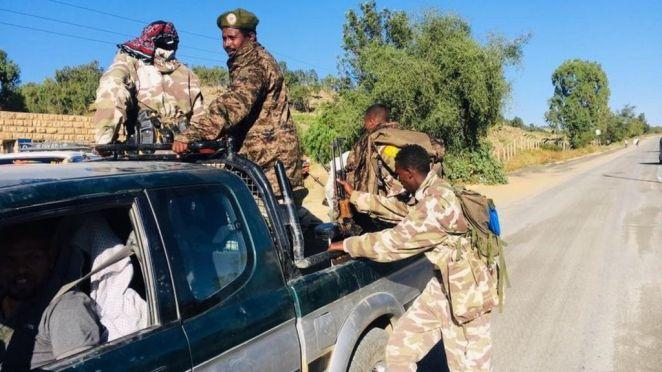 Tigray crisis: Ethiopia orders military response after army base seized -  BBC News