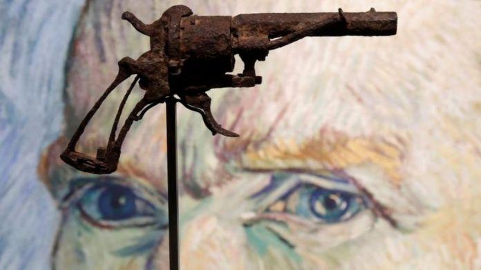 Van Gogh 'suicide gun' I PinkLungi