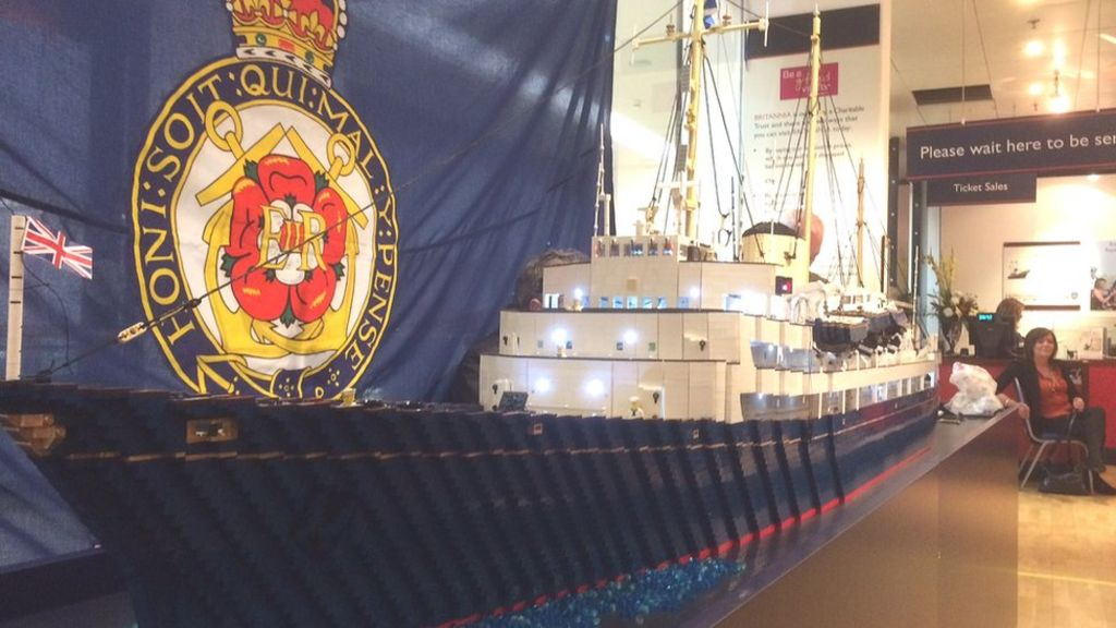The Royal Yacht Britannia Lego Replica To Be Unveiled In
