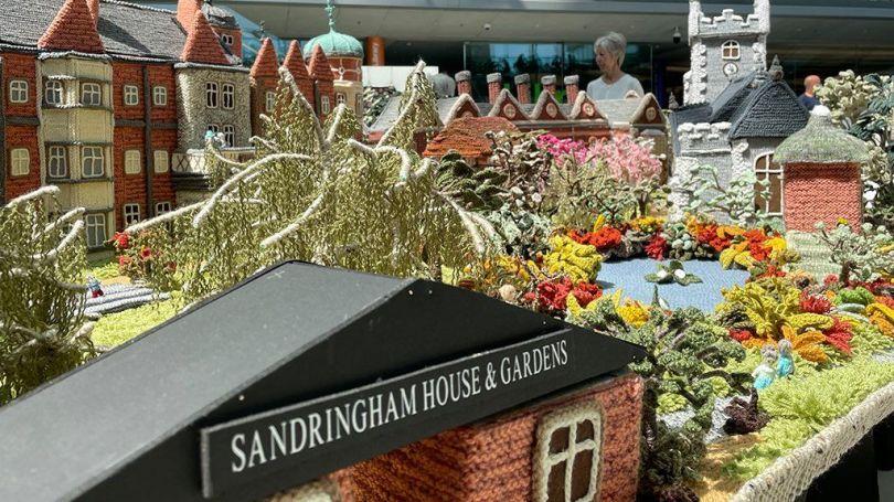 The knitted Sandringham Estate