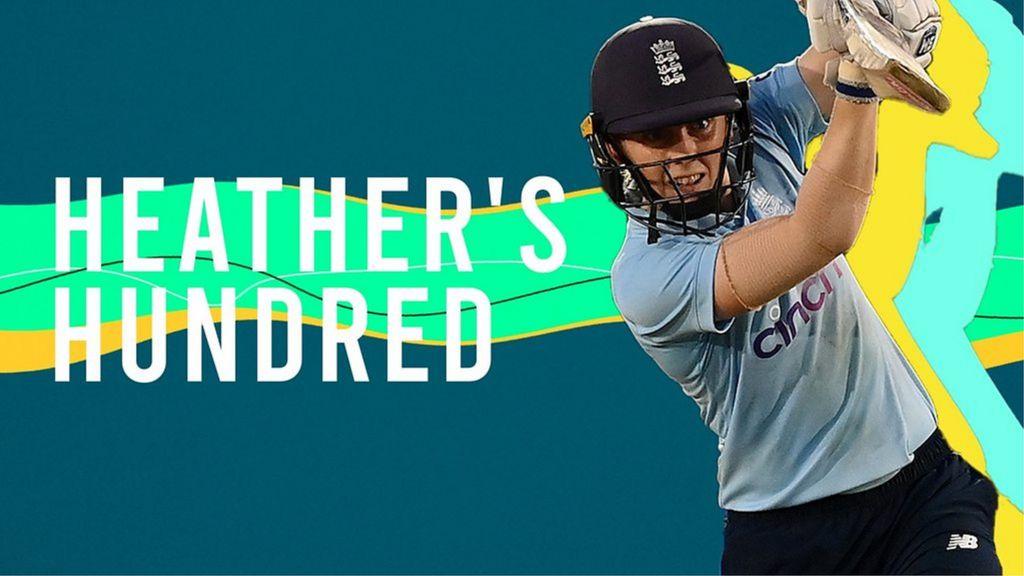 , England v New Zealand ODI: Heather Knight century inspires series win, The Evepost BBC News