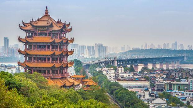 Wuhan's Yellow Crane Tower, China