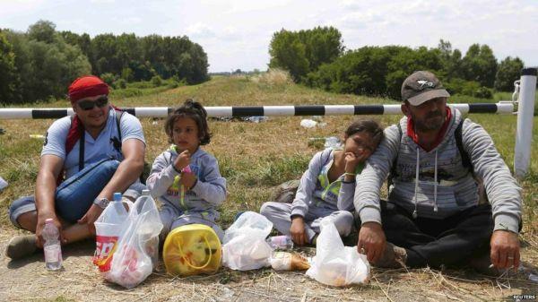 Migrant crisis: EU to help Hungary tackle big influx - BBC ...