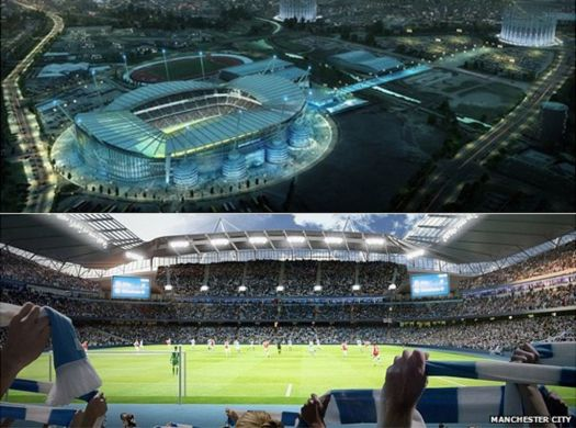 Manchester City's Etihad Stadium expansion approved - BBC News