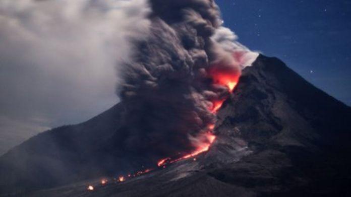 Indonesia Volcano Nation Bbc News