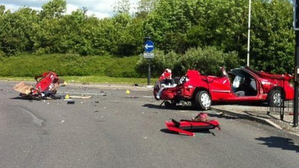 Man charged following fatal car crash in Swindon - BBC News
