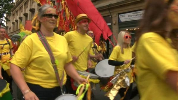 Hull hosts free City of Culture 'thank you' party - BBC News