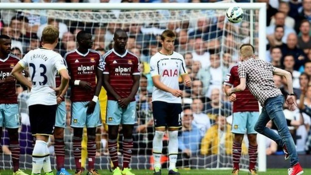 While they won't provide the same level of comfort as air conditioning (a/c) does, fans have a lot of perks that the a/c can't offer. Fan Fined For Taking Free Kick During West Ham Spurs Clash Bbc News