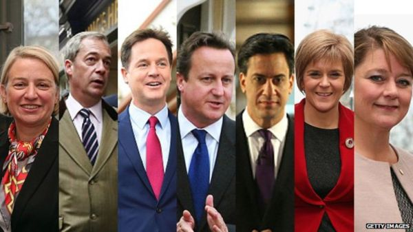 Election 2015: Seven-party TV debate plan announced - BBC News