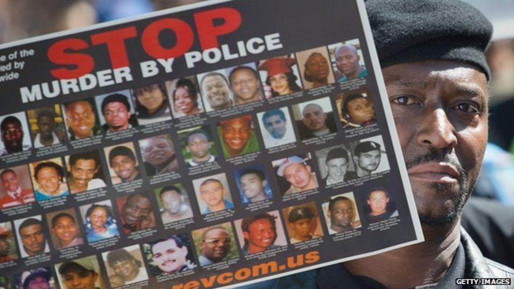 Why do US police keep killing unarmed black men? - BBC News
