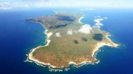 Vista aérea de Ni'ihau