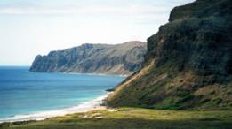 La costa de Ni'ihau