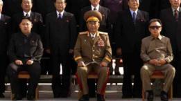 Kim Jong-un junto a su padre Kim Jong-il