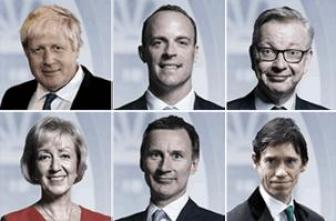 Conservative party leader candidates