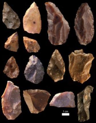 Herramientas de piedra.