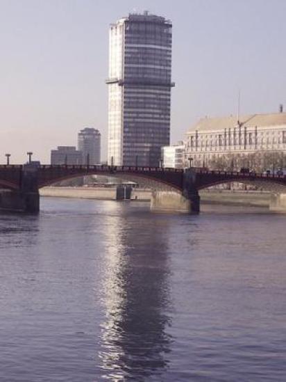 Vista do rio Tâmisa