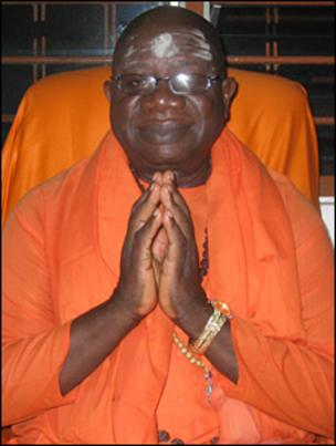 Swami Ghanananda Swaraswati founded the African Hindu Temple in 1975