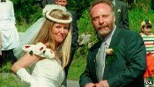 Brian Keenan and Audrey Doyle