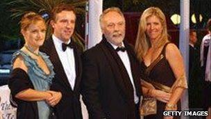 Brian Keenan and Audrey Doyle, Anna and John McCarthy