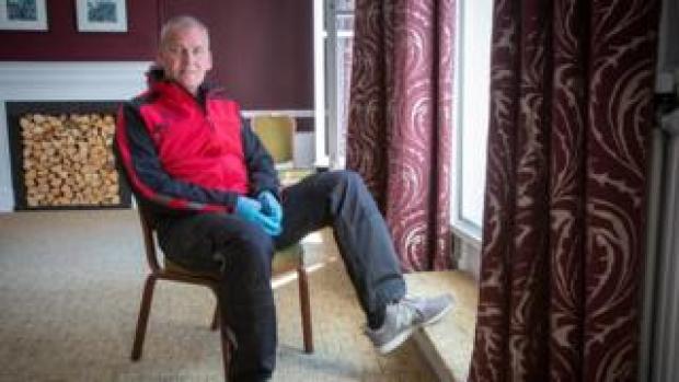 Will Whelan at the Royal County hotel