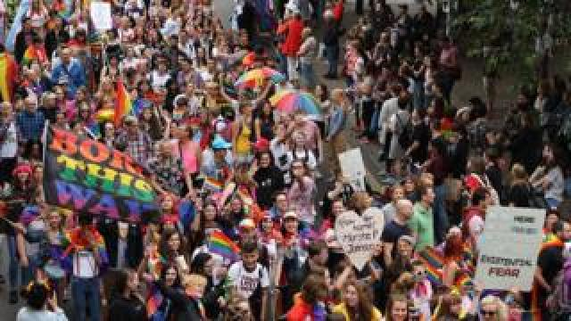 The 'people's march' at Norwich Pride