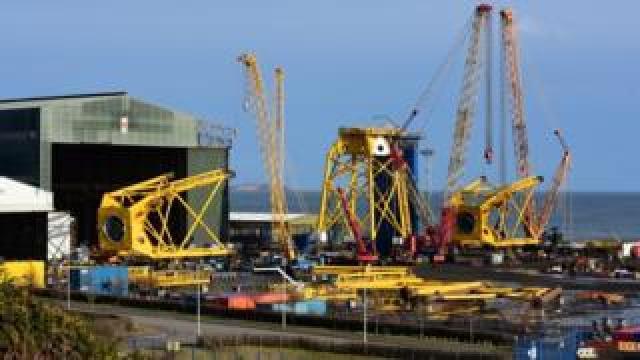 The BiFab Methil yard in Fife