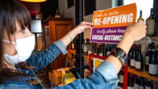Reopening a bar