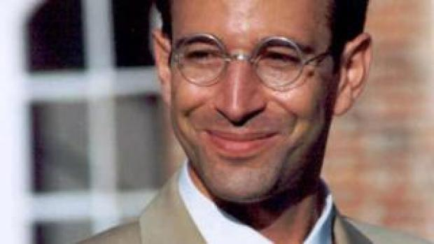 undated file photo of Wall Street Journal reporter Daniel Pearl who disappeared in the Pakistani port city of Karachi 23 January 2002