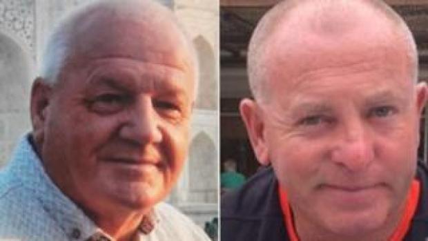 Gareth Delbridge and Michael Lewis