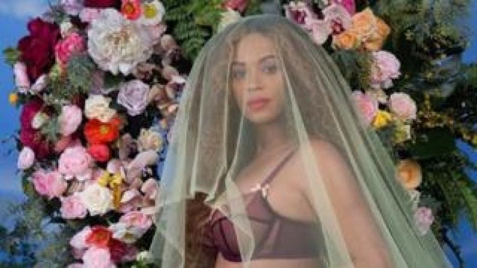 NEWS A screengrab from one of Beyonce's most popular Instagram posts