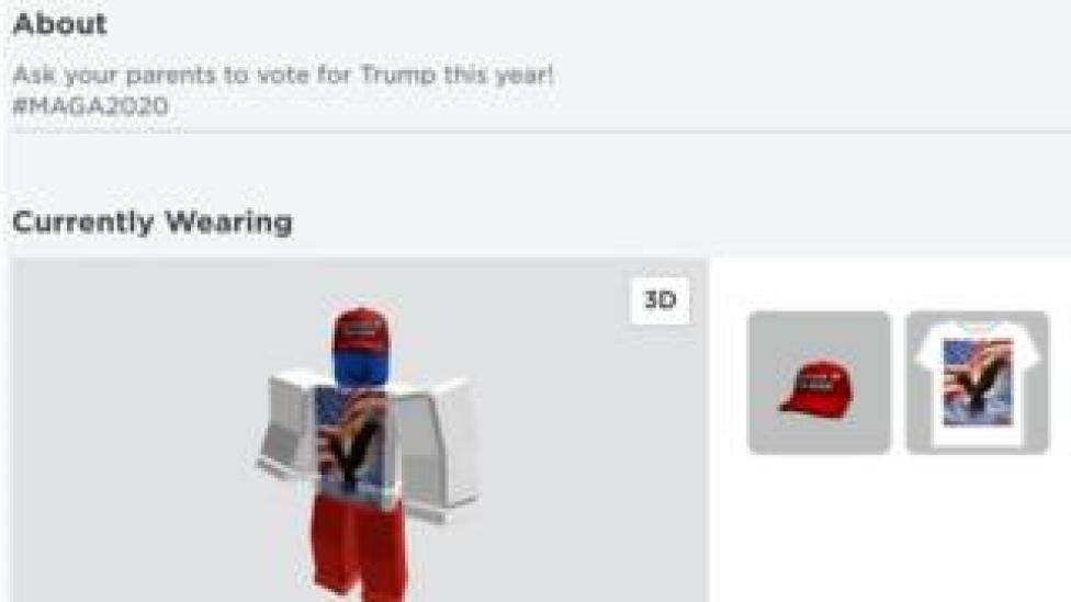 trump An example of one hacked profile