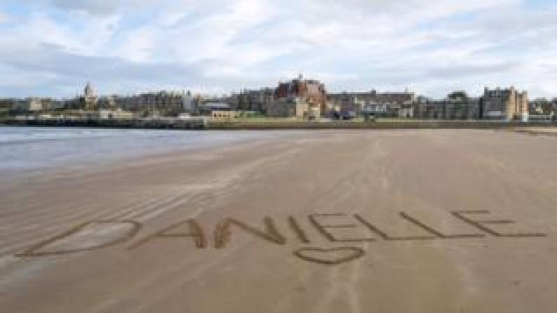 St Andrew's Beach, Scotland.