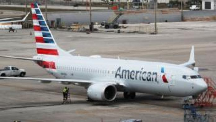 American Airlines jet